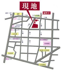 浅井霊苑近隣案内
